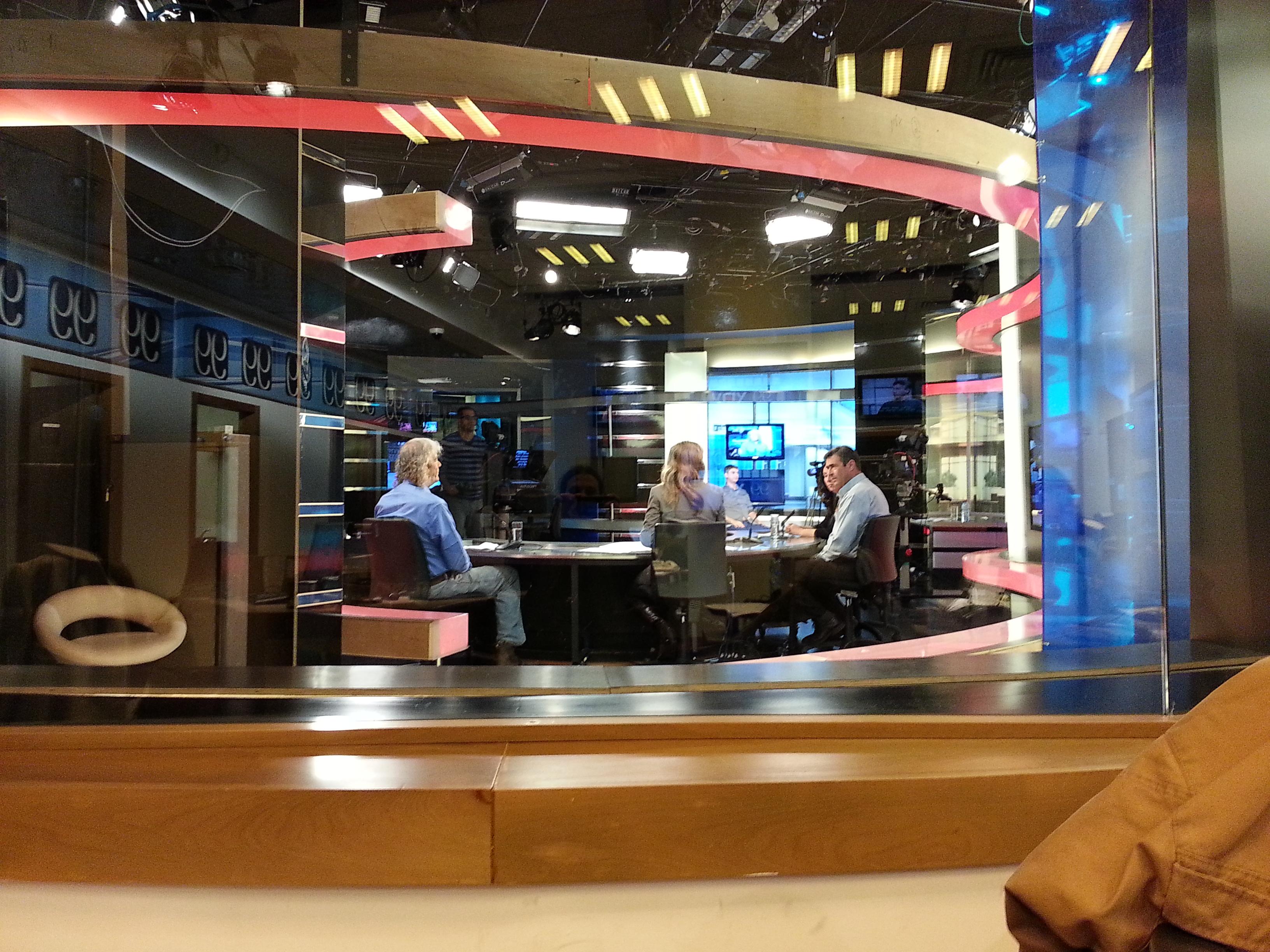 דן בירון מתראיין בערוץ הכנסת 05.12.2012