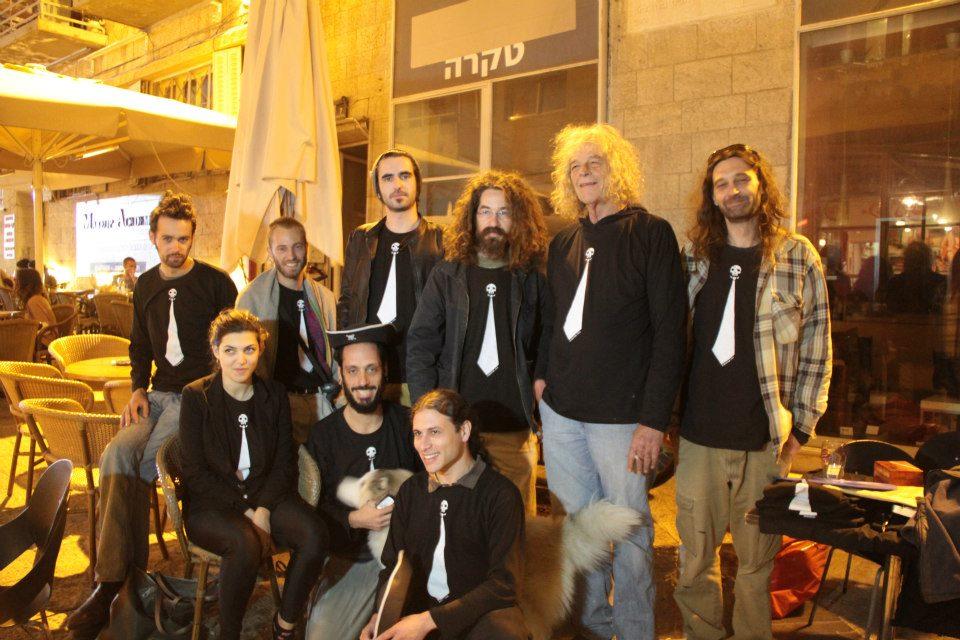 תמונה מערב ההרשמה והצגת המועמדים בבירמן, ירושלים, 1.12.2012