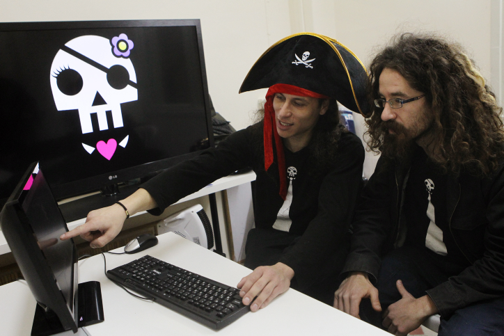 Israel's Pirate Party advocates 'liquid democracy'
